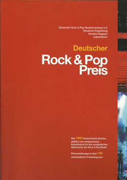 Rock Pop Preis 2012 Best Alternative Album 2012